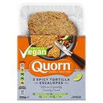 Quorn 2 Spicy Tortilla Escalopes