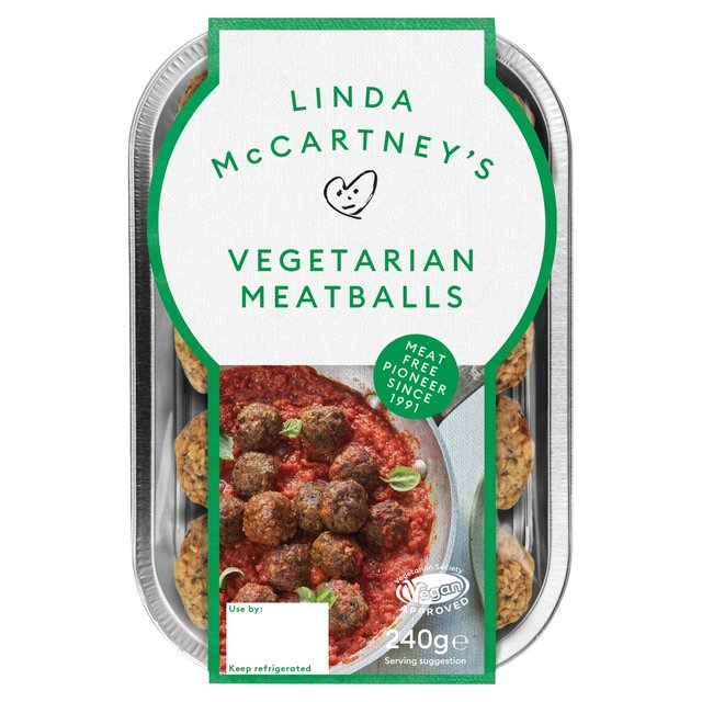 Linda McCartney's Vegetarian Meatballs
