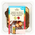 Morrisons Sweet Pepper Stuffed Vine Leaves