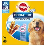 Pedigree Dentastix Daily Oral Care Large Dog Big Pack X56
