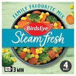 Birds Eye Steamfresh Family Favourite Mix 4 Bags