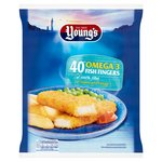 Young's 40 Omega 3 Fish Fingers
