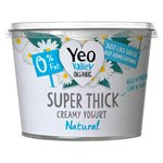 Yeo Valley Organic Super Thick Kerned Yogurt Natural 0% Fat