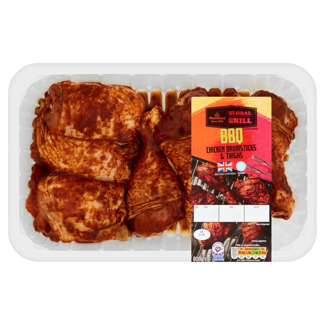 Morrisons BBQ Chicken Drums & Thighs