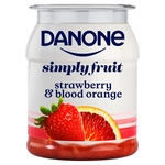 Danone Strawberry & Blood Orange Yogurt