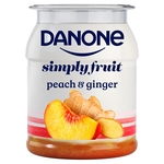 Danone Peach & Ginger Yogurt
