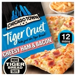 Chicago Town Pizza Kitchen Tiger Crust Cheesy Ham & Bacon Pizza