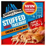Chicago Town Takeaway Sauce Filled Crust Chicken & Bacon Pizza