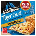 Chicago Town The Pizza Kitchen Cheese Medley Pizza