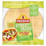 Mission Foods Chilli & Lime Street Tacos