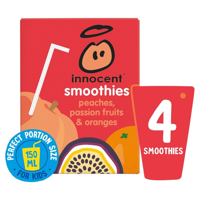Innocent Smoothies Just For Kids Peach & Passion Fruit