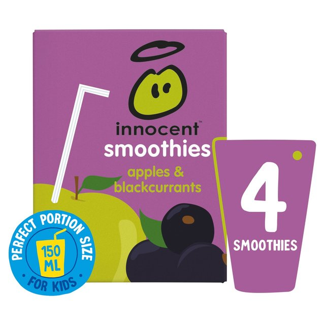 Innocent Smoothies Just For Kids Apple & Blackcurrant