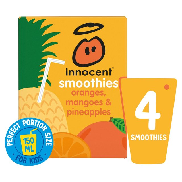 Innocent Smoothies Just For Kids Orange, Mango & Pineapple