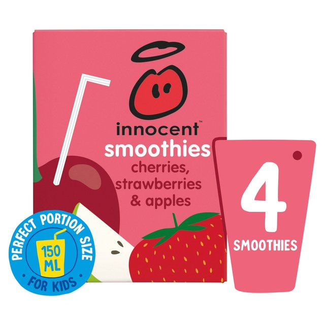 Innocent Smoothies Just For Kids Cherry & Strawberry