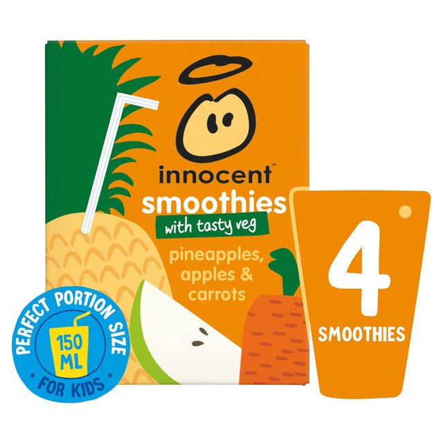 Innocent Smoothies Just For Kids Pineapple, Apple & Carrot