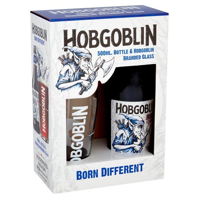 Hobgoblin Bottle & Branded Glass Gift Pack