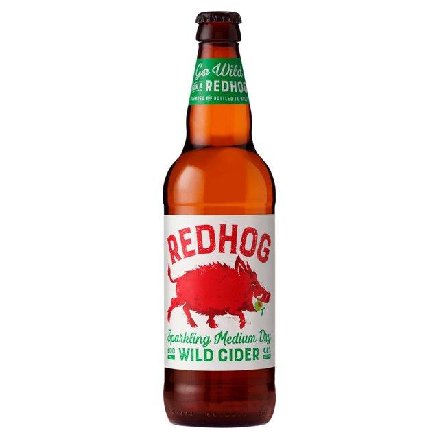 Red Hog Medium Dry Cider