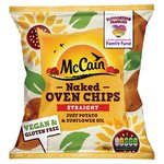 McCain Naked Oven Chips Straight