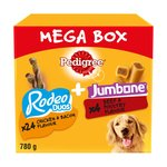 Pedigree Rodeo Duos X24 + Jumbone X4 Mega Box