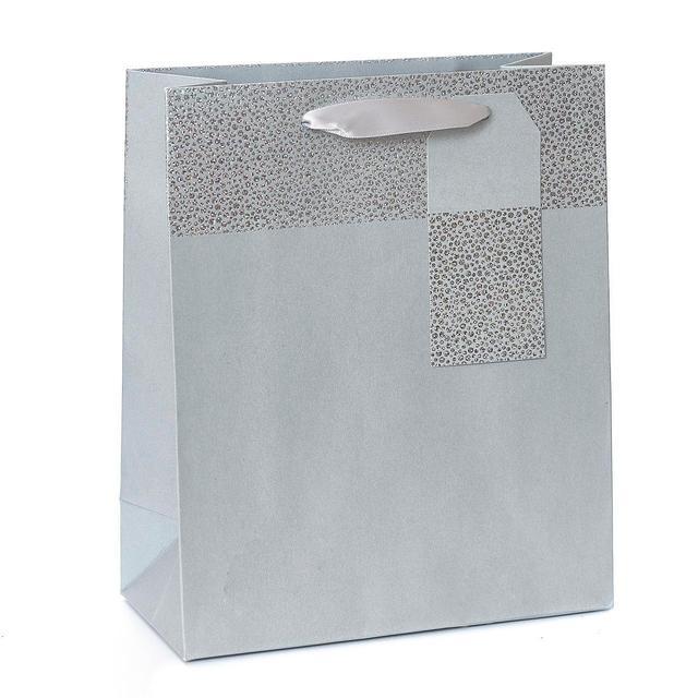 Silver Holo Large Bag