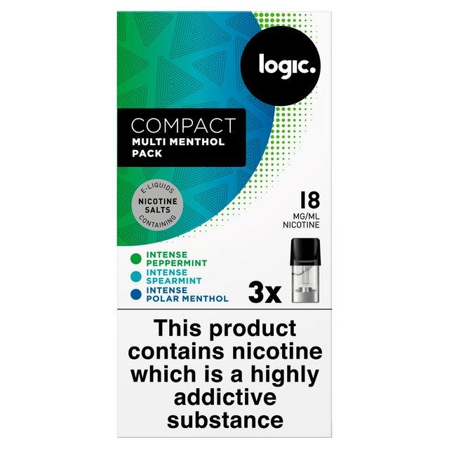 Logic Compact Intense Menthol Pods