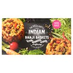 The Vegilantes Indian Spiced Bhaji Baskets 350G