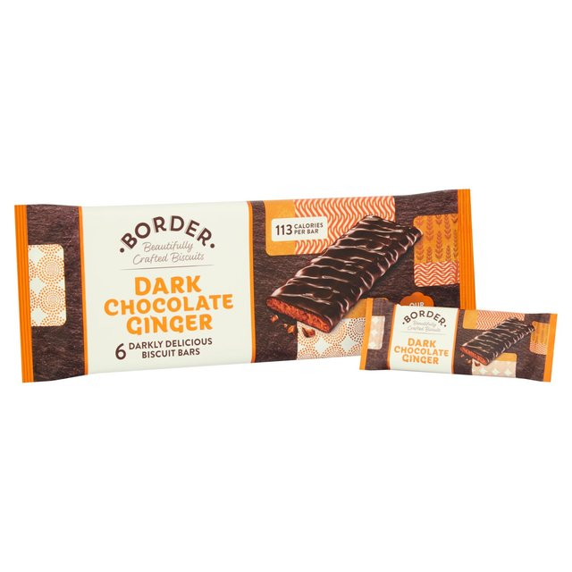Border Dark Chocolate Ginger
