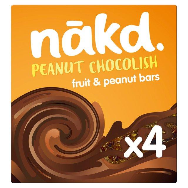 Nakd Peanut Chocolish Fruit & Nut Cereal Bars