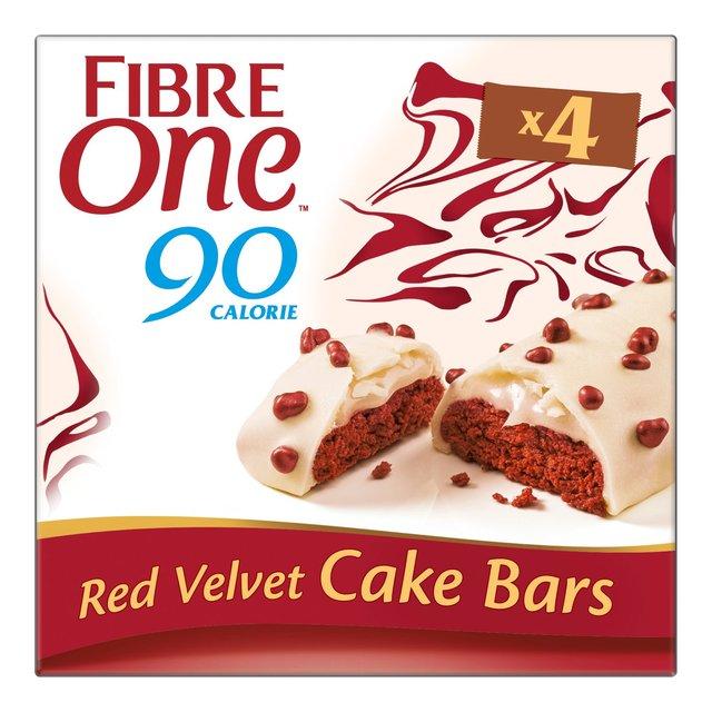 Fibre One 90 Calorie Red Velvet High Fibre Cake Bars