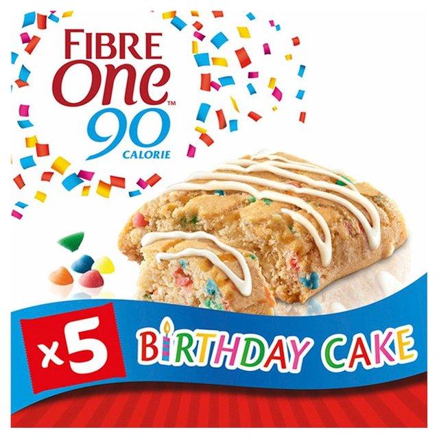Fibre One 5 Birthday Cake Squares