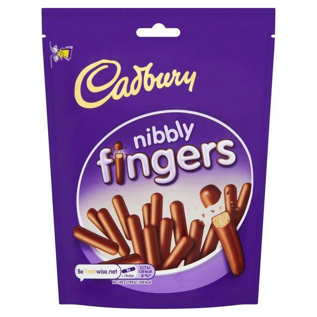MORRISONS > Food Cupboard > Cadbury Nibbly Fingers