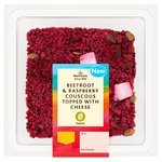 Morrisons Beetroot, Raspberry Cheese Couscous