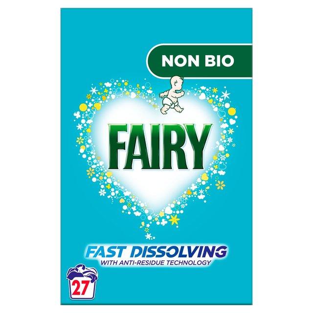 Fairy Non Bio Washing Powder 27 Washes
