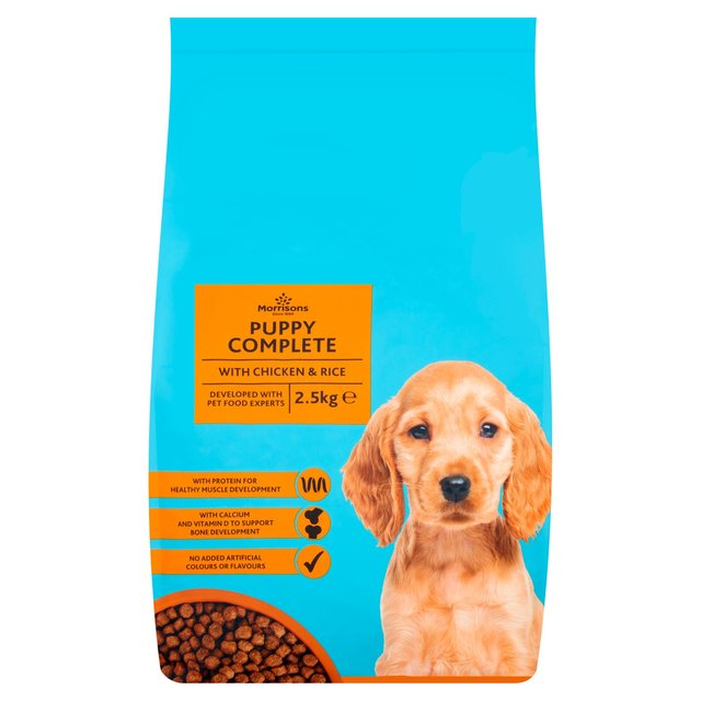 natures diet feel good puppy food morrisons