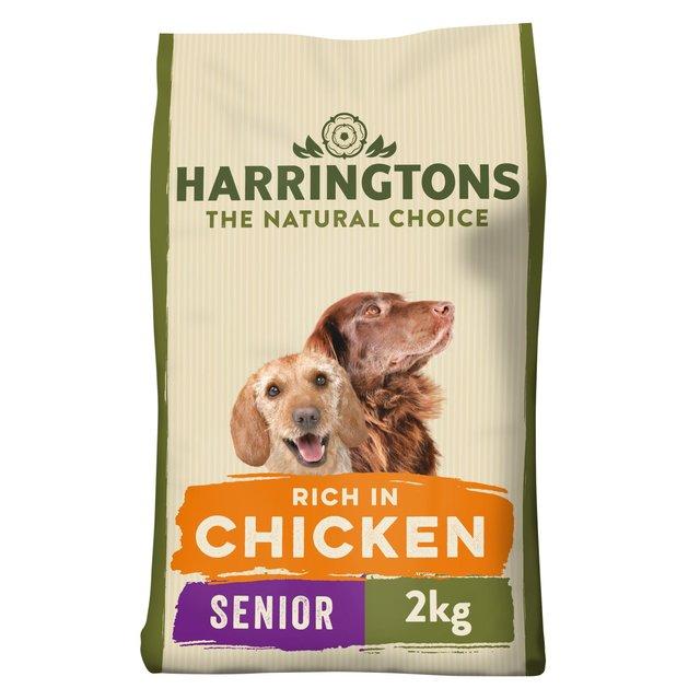 Harringtons Rich In Chicken & Rice Senior Dog Complete