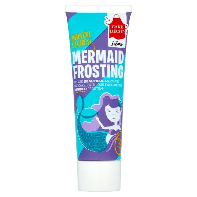 Cake Decor Mermaid Frosting