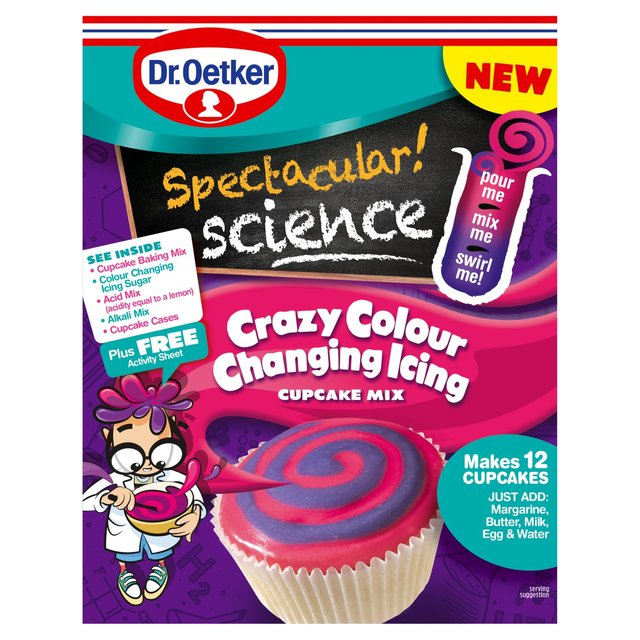 Spectacular Science Crazy Colour Changing Icing Mix