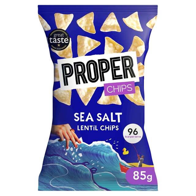 Properchips Sea Salt Lentil Chips