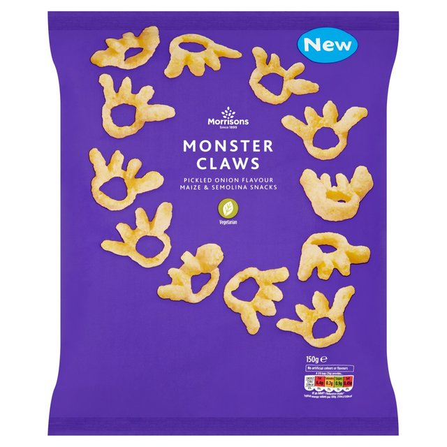 Morrisons Monster Claws Pickled Onion