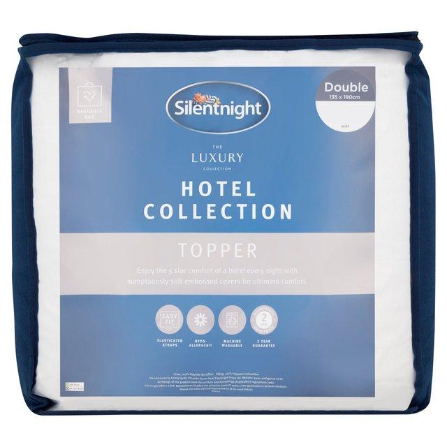 Silentnight Luxury Hotel Collection Mattress Topper Double
