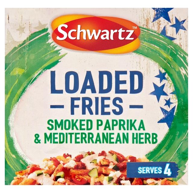 Schwartz Loaded Fries Smoked Paprika & Mediterranean Herb
