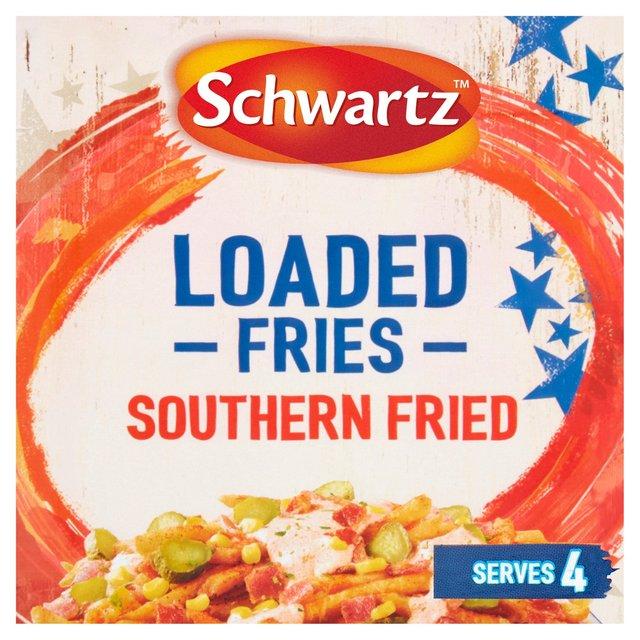 Schwartz Loaded Fries Southern Fried