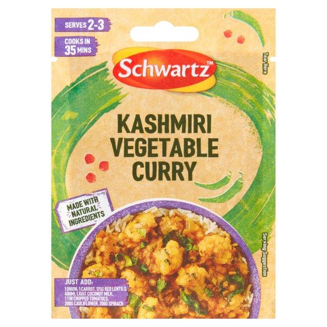 Schwartz Kashmiri Vegetable Curry