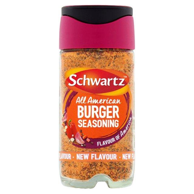 Schwartz All American Burger Seasoning