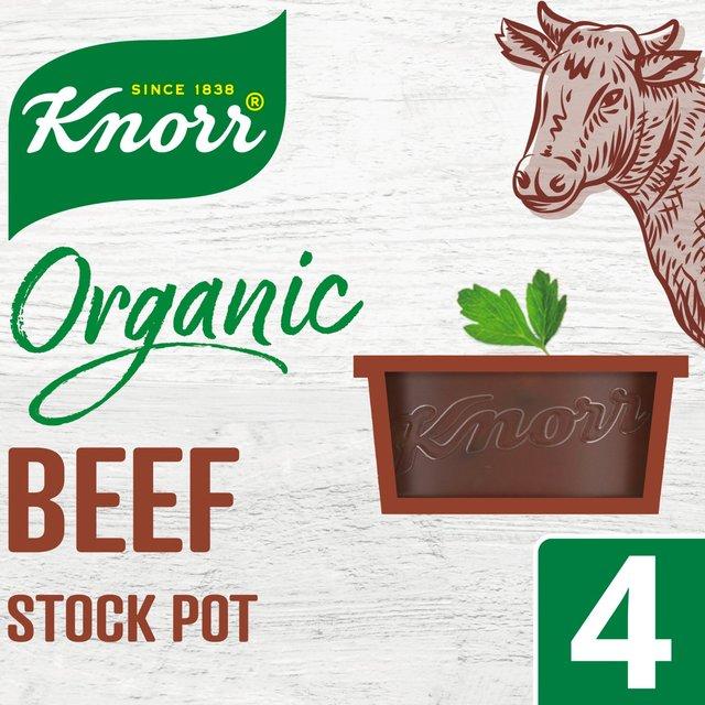 Knorr Organic Beef Stock Pot