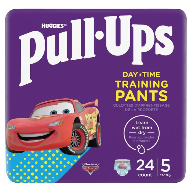 Huggies Pull Ups Explorers Boys 1.5 - 3 Years Nappies Size 4 & Size 5