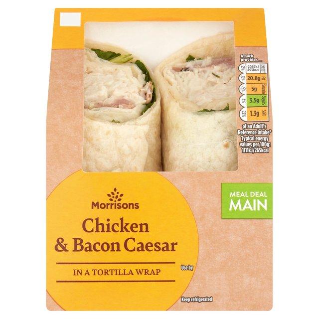 Morrisons  Chicken Caesar Wrap