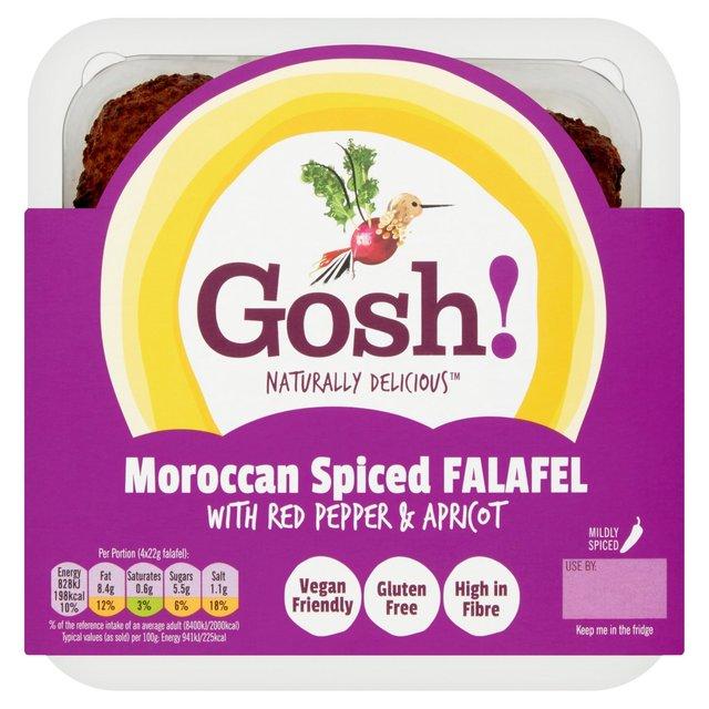 Baked Moroccan Falafel