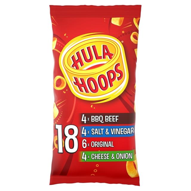 Hula Hoops Variety Multipack Crisps 18 Pack