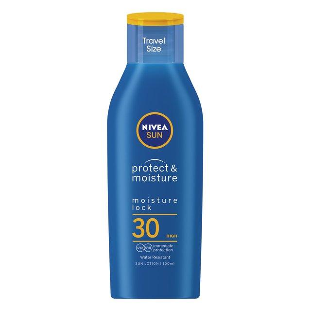 Nivea Sun Protect & Moisture 30 Travel Size Sun Lotion